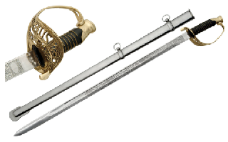 U.S. Military Staff Officer's Sword